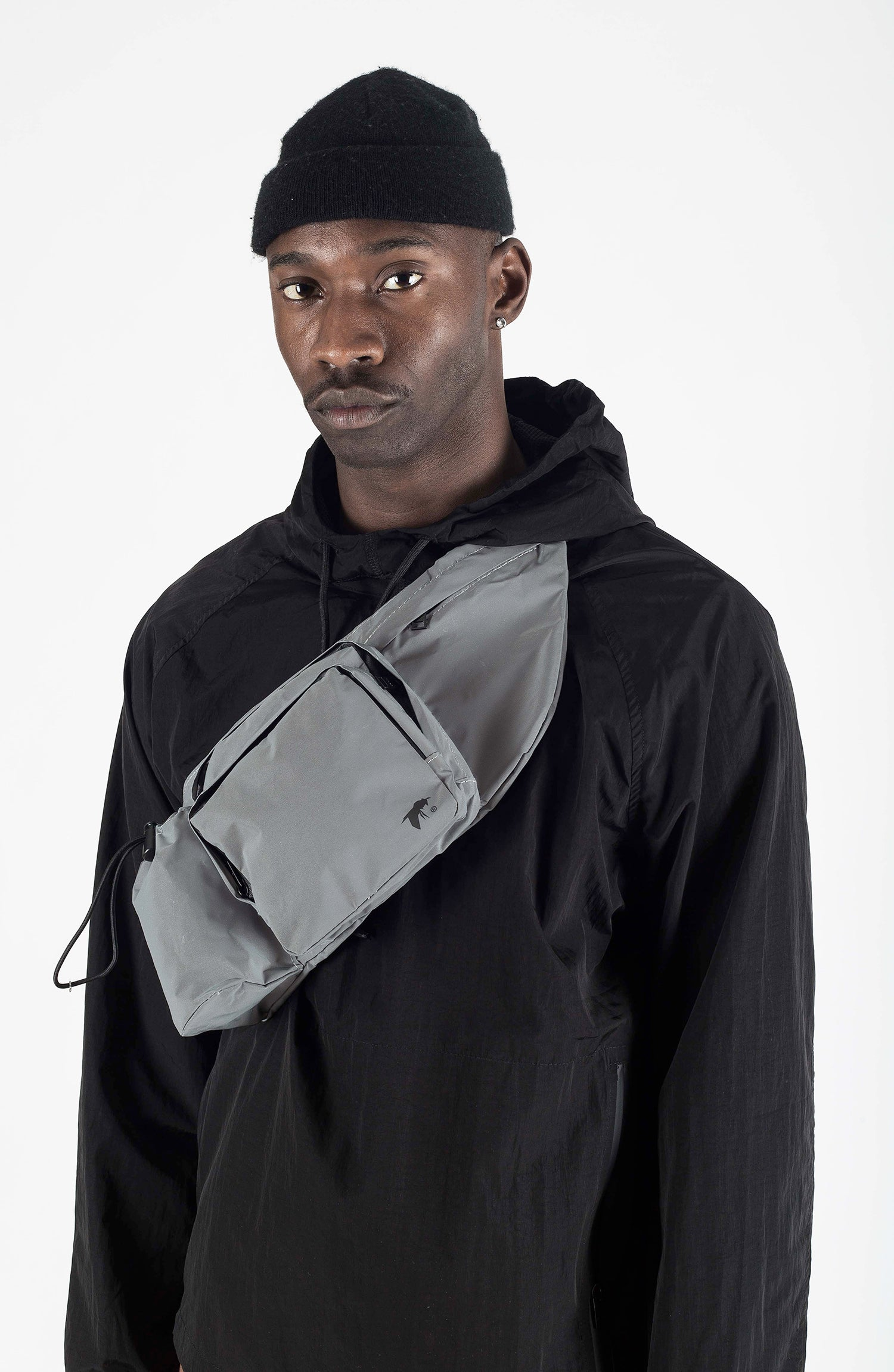 reflective tactical waist bag