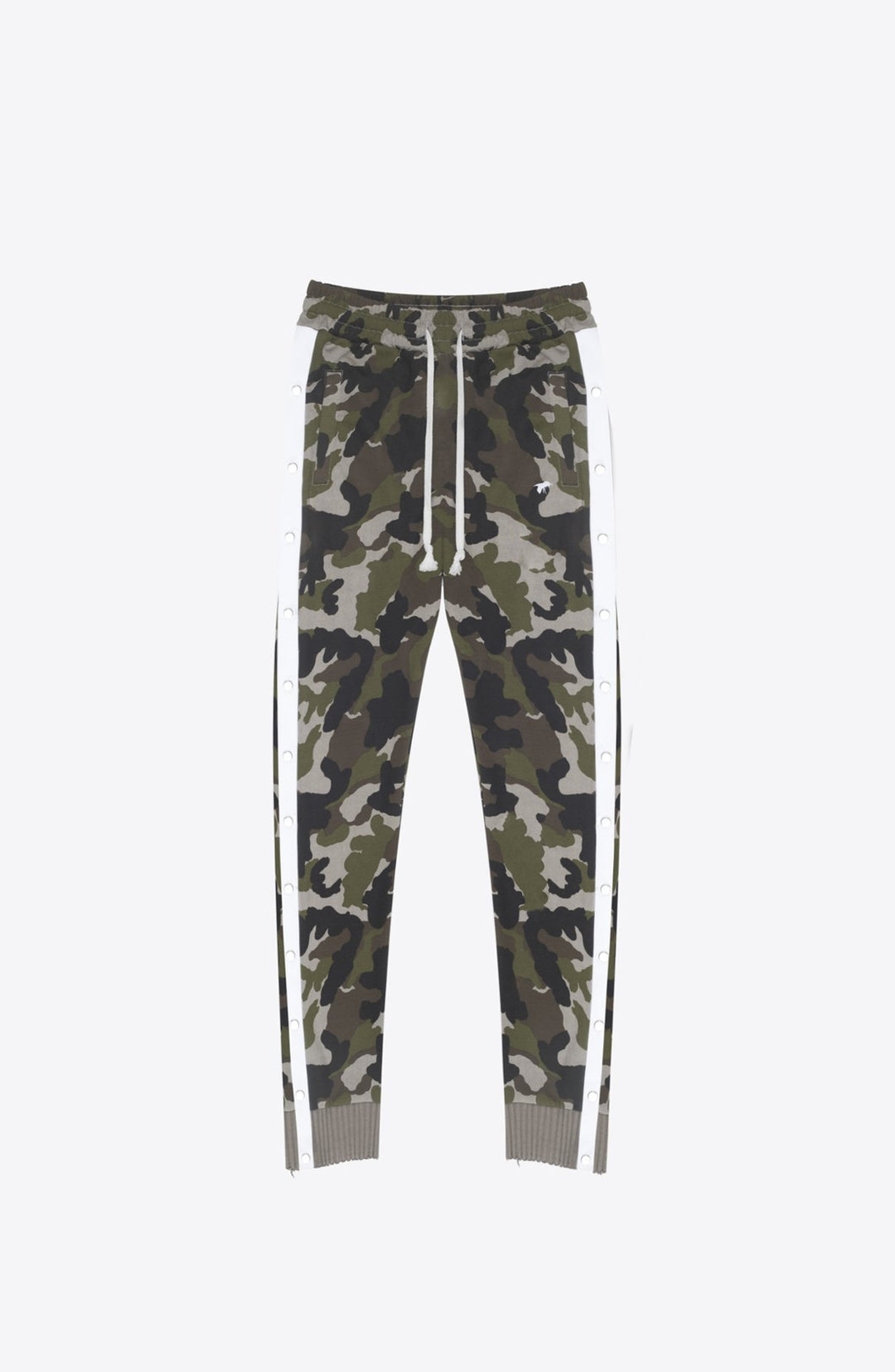 CAMO SNAP TRACK PANTS