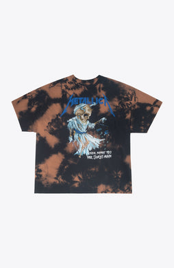 Bleached scales Metallica Tee