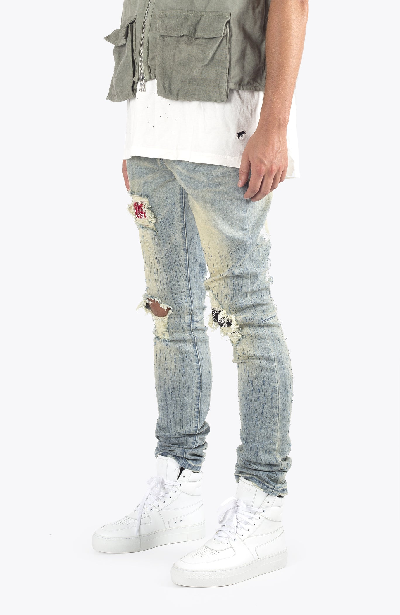 bandana denim