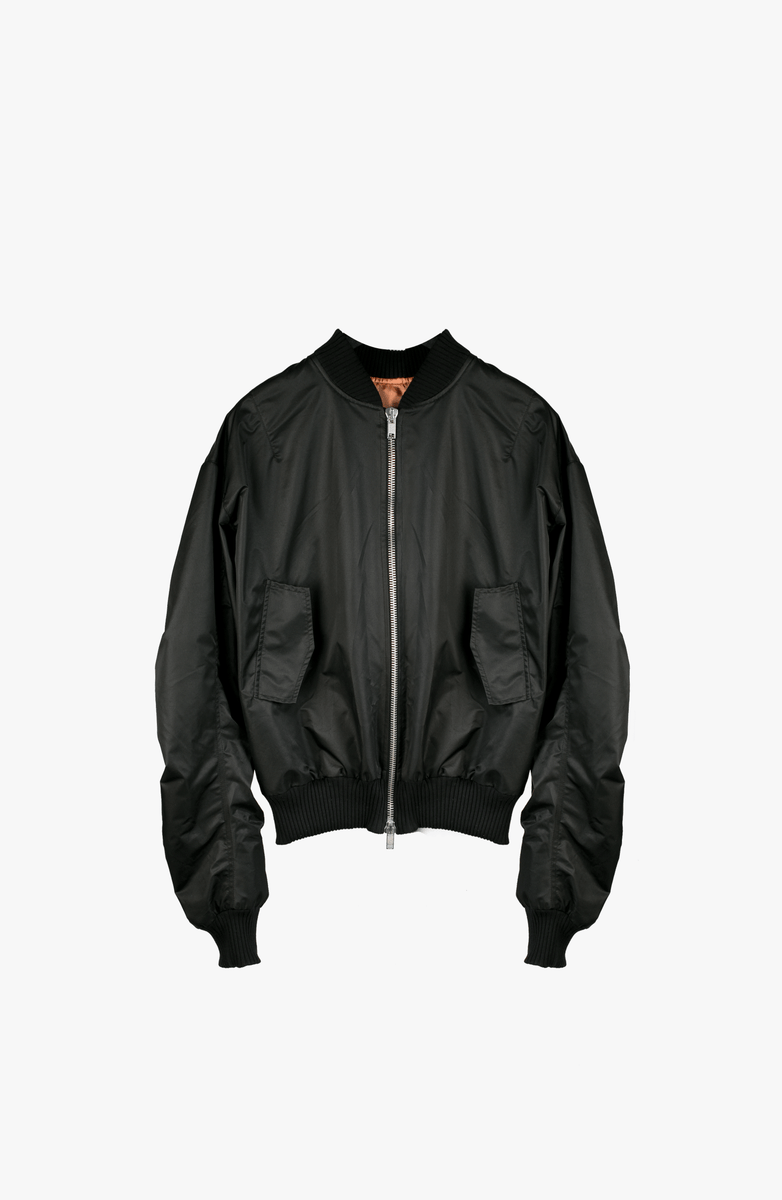 BLACK PATCH MA-1 BOMBER