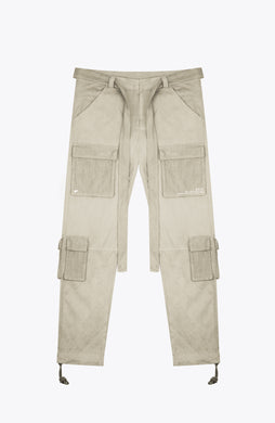 front pocket cargo pants - sand