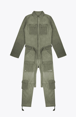 escape jumpsuit - army green