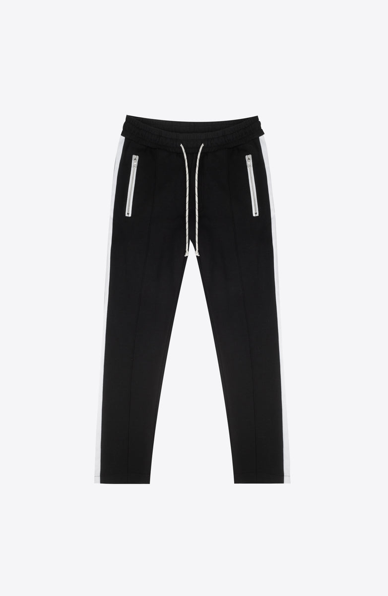 B/W ZOLA CROP SWEATPANTS