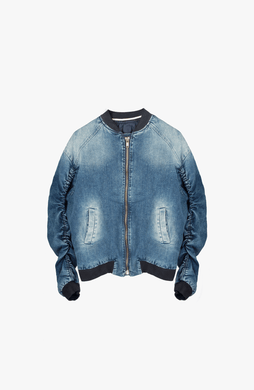 DENIM MA-1 BOMBER