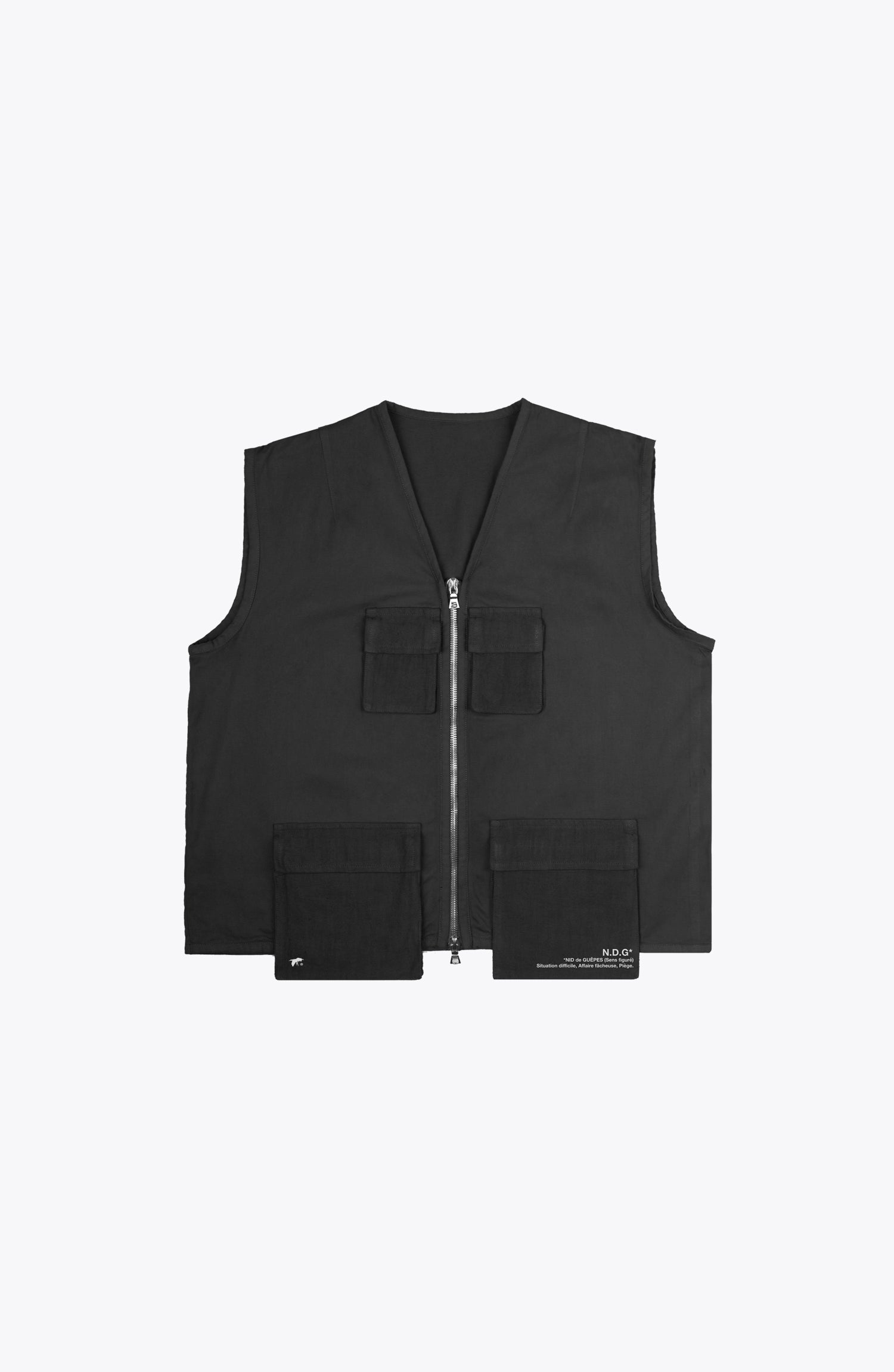 escape utility vest - black