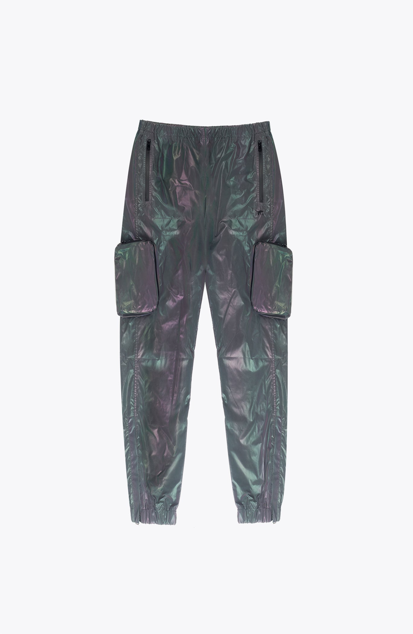 iridescent JOGGING TROUSERS