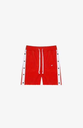 RED SNAP TRACK SHORT