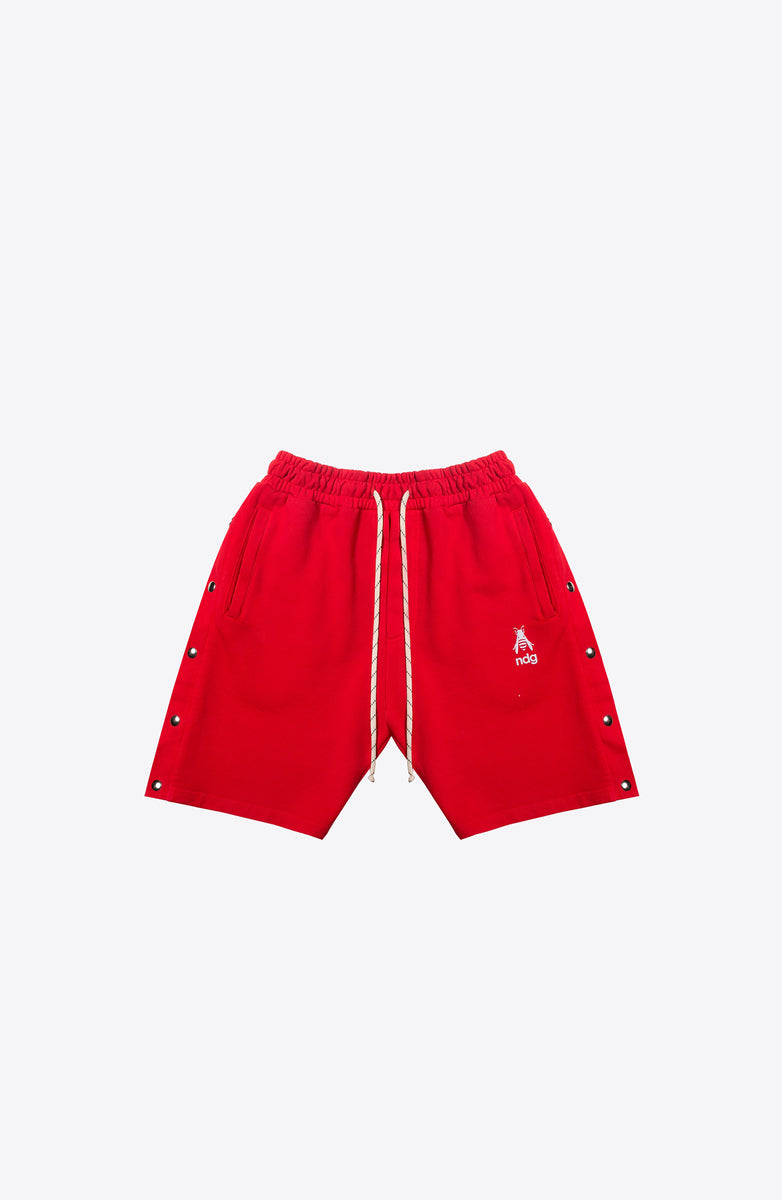 SAISON 7 RED SPORT TRACK SHORT