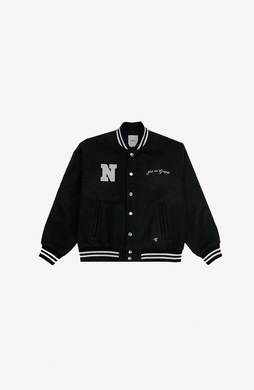 SKELETON VARSITY JACKET