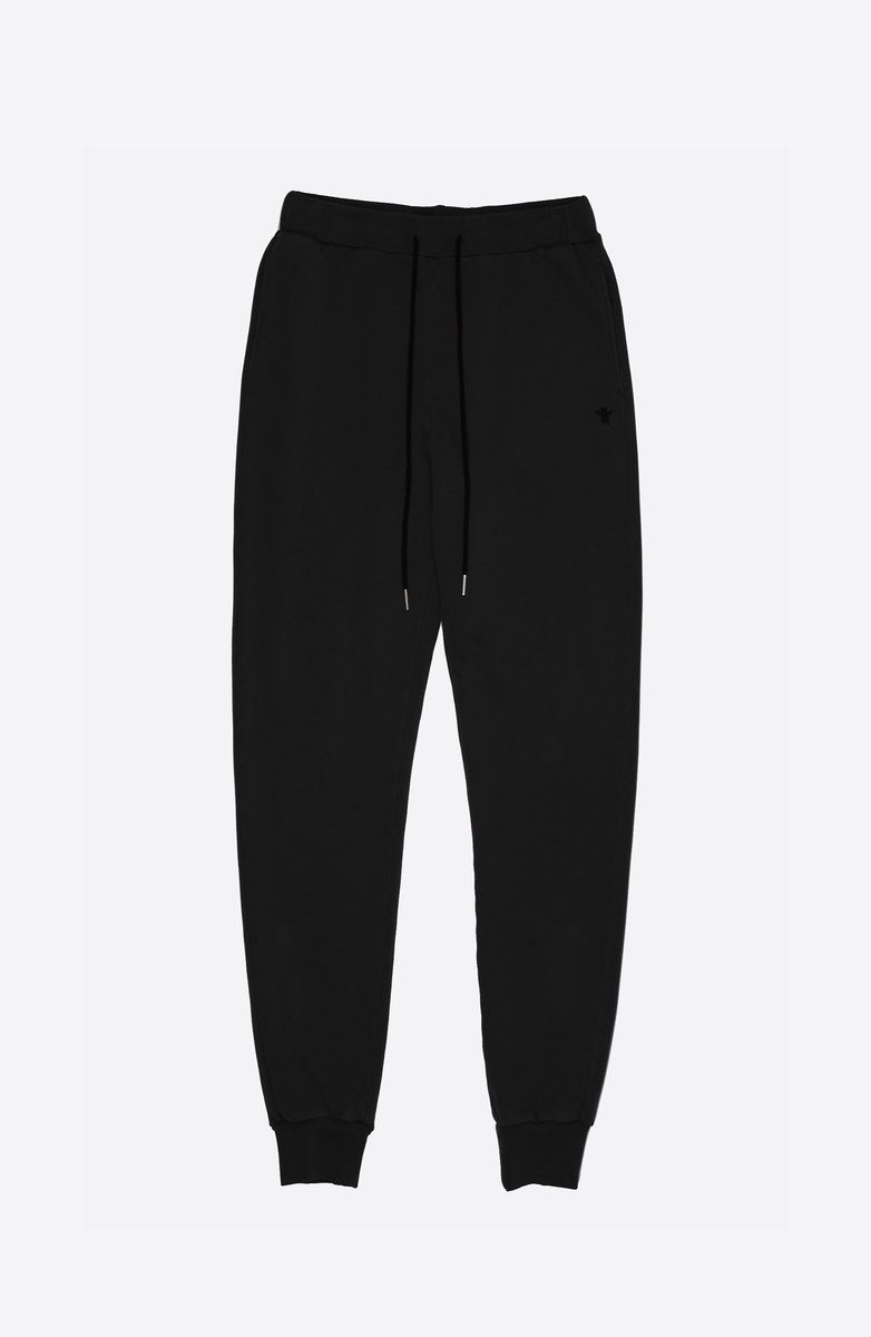 BLACK COZY SWEATPANTS