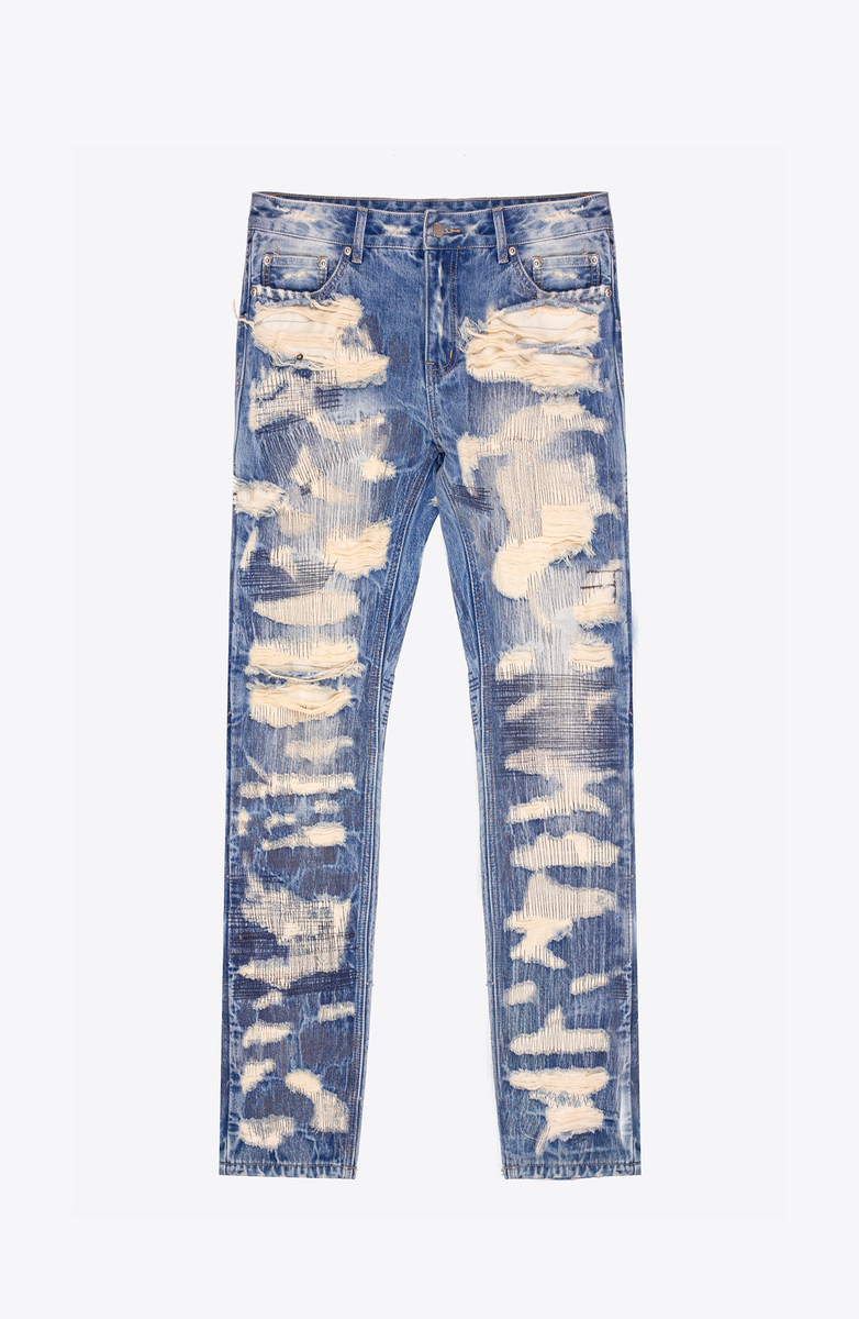 SUPER DESTROYED DENIM