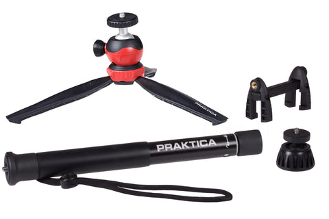 4in1 Desktop Tripod & Monopod Kit