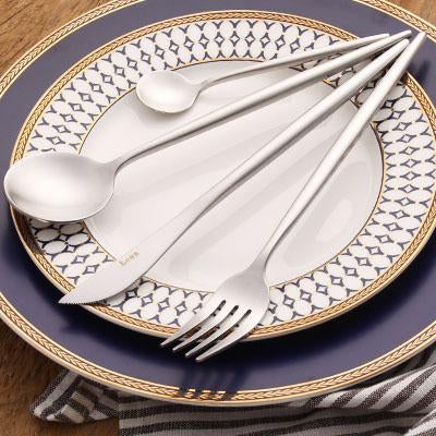 Leno Flatware Set-flatware-Turtle Leaf
