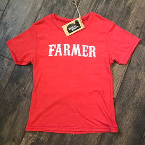 Kiddos Farmer - Red