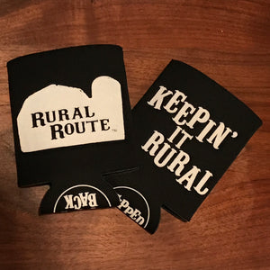 Rural Route Life - Keepin' it rural koozie