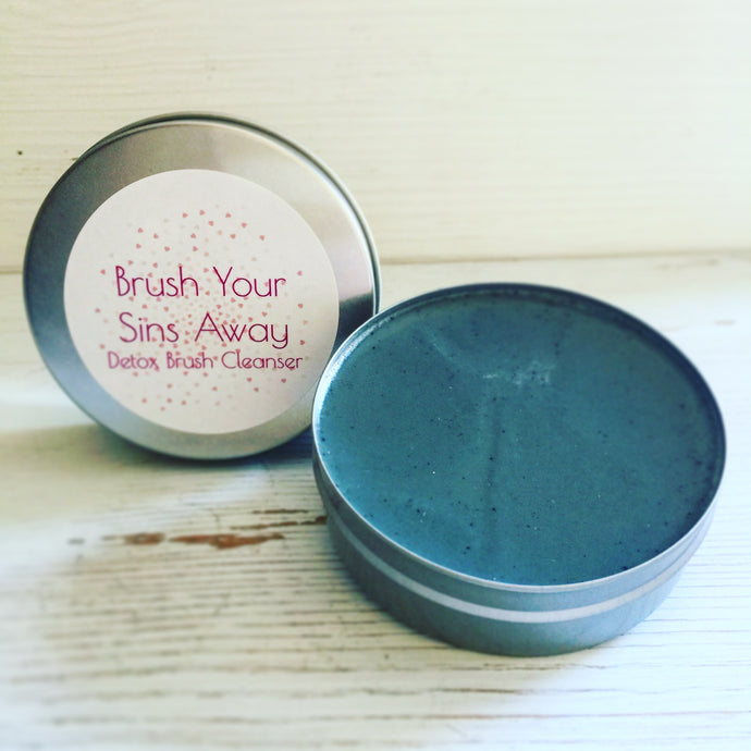 Brush Your Sins Away - Detox Brush Cleanser