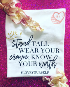 #LOVEYOURSELF Tee