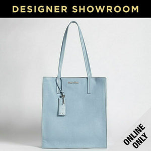 Miu Miu Cielo Leather Shopper Tote