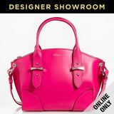 Alexander McQueen Leather Legend Small Convertible Satchel Pink