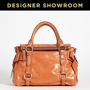 Miu Miu Corallo Leather Convertible Satchel