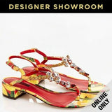 Dolce & Gabbana Women's Genuine Calfskin Patent Leather Sandals - Many Sizes