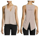 the Bar Method collaboration w Vimmia Womens V Nck High Low Tank Choice of Size