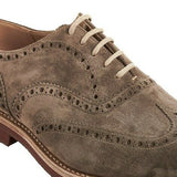 Church's US 8 Suede Wingtip Oxfords - Men's DOWNTON6453