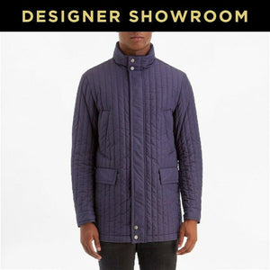 Canali Water / Wind Resistant Resistant Quilted Jacket