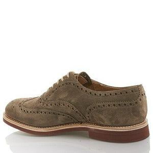 Church's US 6 Suede Wingtip Oxfords - Men's DOWNTON6453