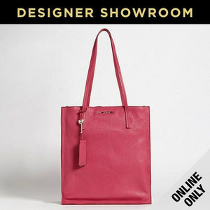 Miu Miu Peonia Leather Shopper Tote