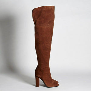 Giuseppe Zanotti US 12 Leather Over-The-Knee Boots I58050