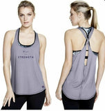 the Bar Method collaboration w Vimmia Women Keyhole Racerback Tank Choice Size