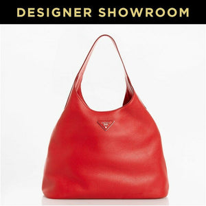 Brand New Prada Pebbled Leather Hobo Lacca Bag
