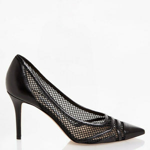 Jimmy Choo EUR 41 Hettie Womens Leather Fishnet Pumps HETTIE100TEN