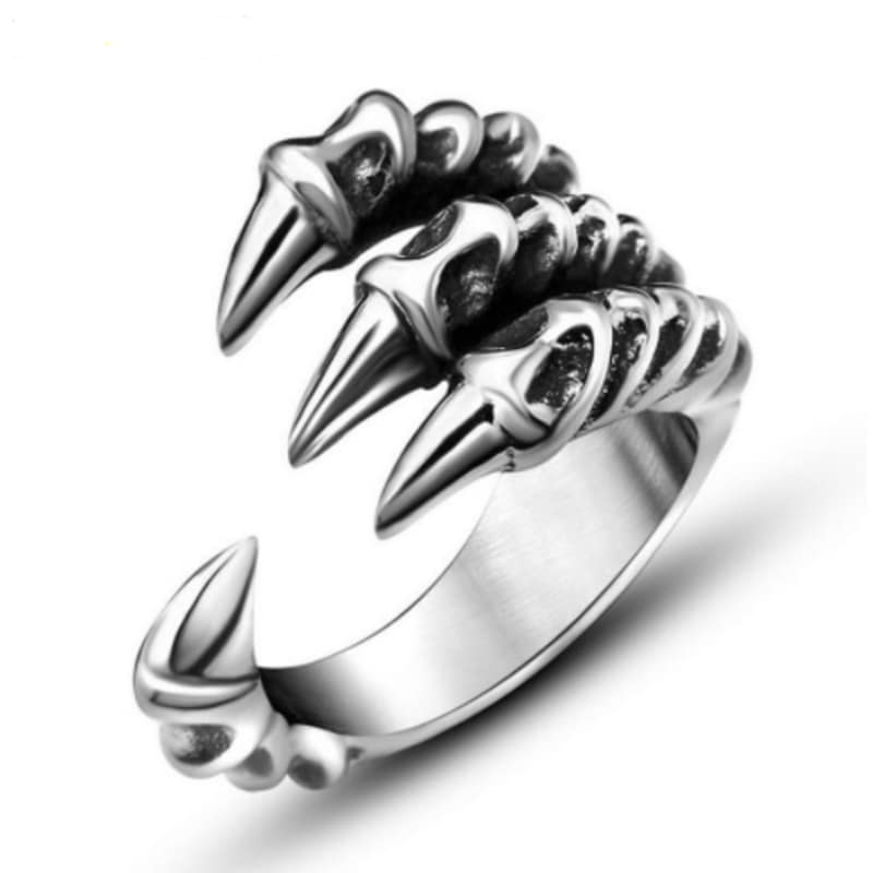Bague Griffes De Dragon Rock Chic 7
