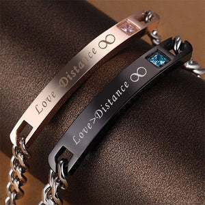 Bracelet De Distance Pour Couple Love Dark Label Shop