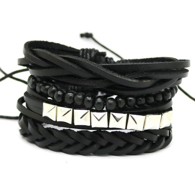 Bracelet Style Vintage Punk Rétro Dark Label Shop Rock