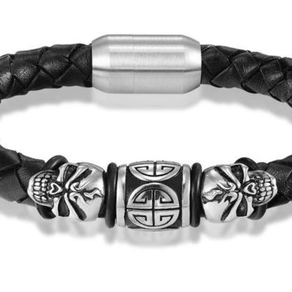 Bracelet Tendance Crâne Fashion Dark Label Shop Punk Rock