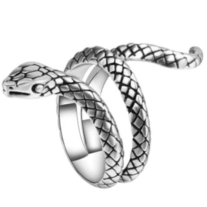 Gratuit - Bague Serpent Punk Rock Fashion