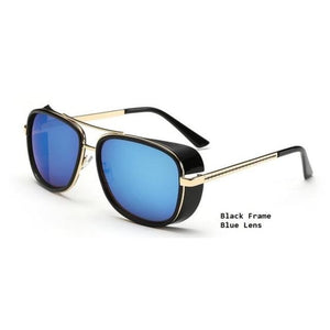 Lunette Vintage Black Light Blue Lunettes