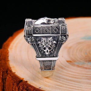 bague-crane-en-argent-chevaliere-dark-label-shop
