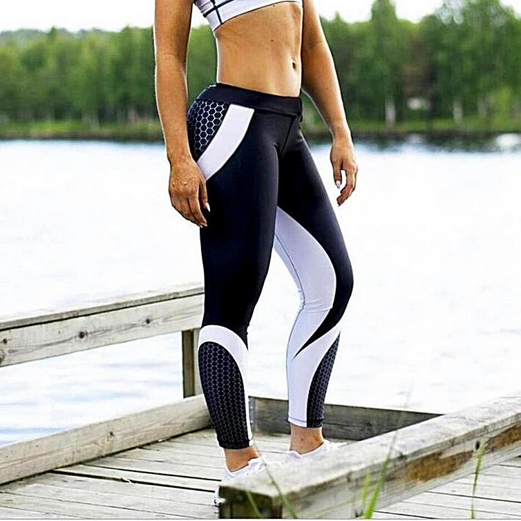 Leggings fitness noir et blanc avis | Dark Label Shop