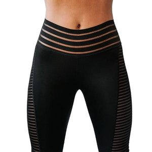 Leggings Sport Taille Haute Femme Dark Label Shop
