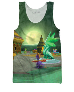 Spyro the Dragon Tank Top