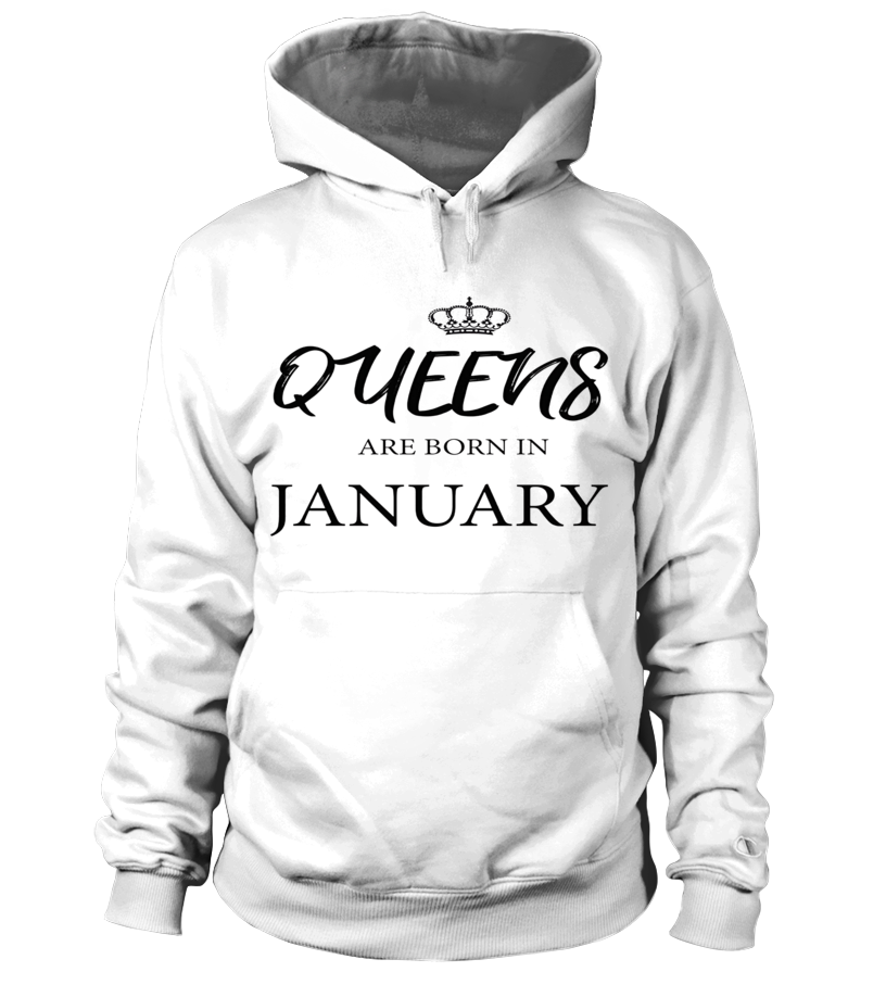 Queens Are Born In January T-Shirt