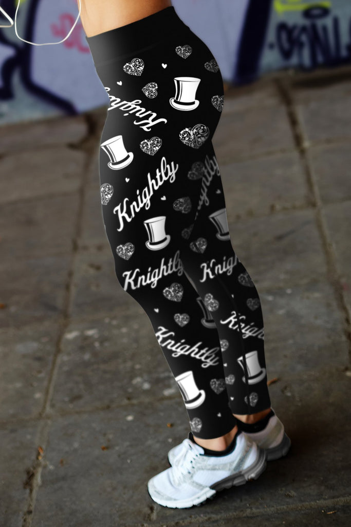 Knightly Lovin Kisses Leggings
