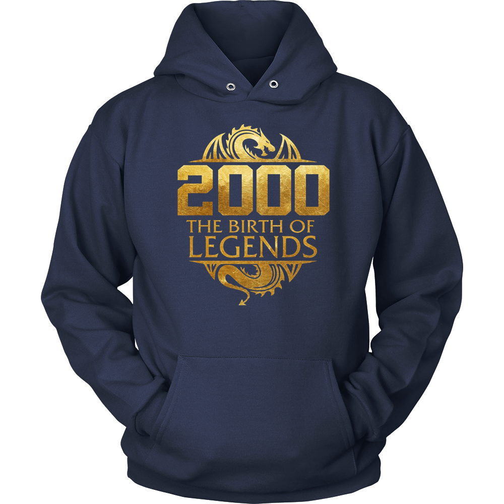 Legends Born In 2000 Birthday Gift For 17 Years Old