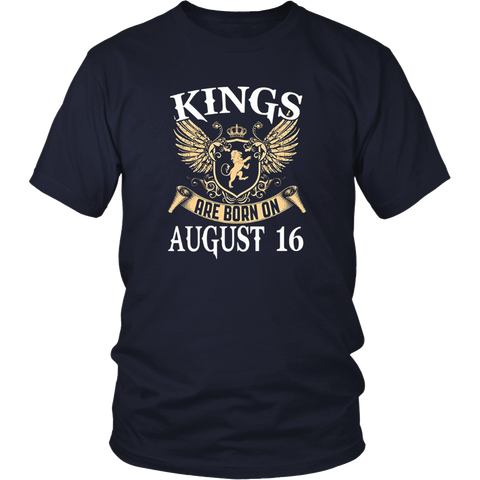 KINGS ARE BORN ON AUGUST 16