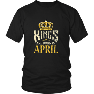 Kings Are Born In April Thumbs Up Birthday Gifts for Men